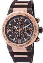 GV2 Watches Men's Novara Stainless Steel Chronograph Watch, 44mm