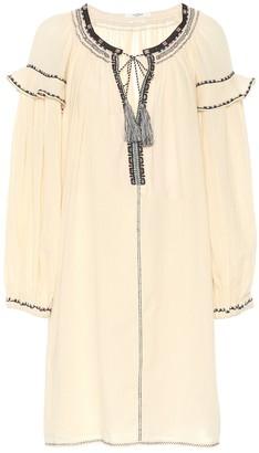 Etoile Isabel Marant Ralya embroidered cotton dress