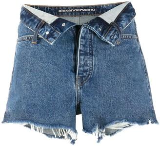 Alexander Wang Bite Flip denim shorts