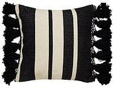 Kate Spade Yorkville Tasseled Striped Pillow