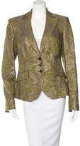 Etro Wool Wide-Lapel Blazer