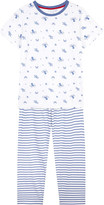 The Little White Company Under the sea cotton pyjamas 6-12 years