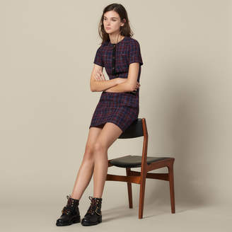 Sandro Short tweed dress