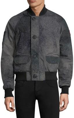Canada Goose Faber Bomber Pewter Jacket