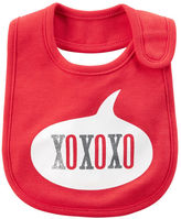 Carter's Valentine's Day XOXO Teething Bib