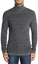HUGO BOSS BOSS Casual Kratix Half Zip Funnel Neck Jumper