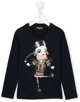 DSQUARED2 diamanté sweet girl sweatshirt