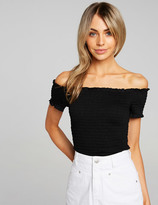 Dotti Shirred Top