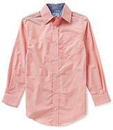 Class Club Big Boys 8-20 Micro Stripe Woven Shirt