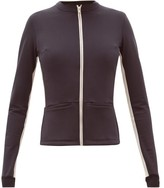 Vaara Blake Technical Zipped Jacket - Womens - Black Beige