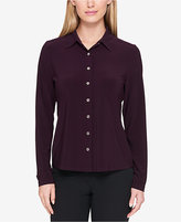 Tommy Hilfiger Stretch Button-Front Shirt