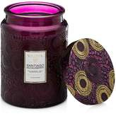 Voluspa Japonica Limited Large Santiago Huckleberry Glass Candle