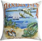 "Panama Jack Jack of all Travels"" Outdoor Throw Pillows (Set of 2)"