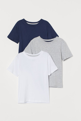 H&M 3-pack T-shirts