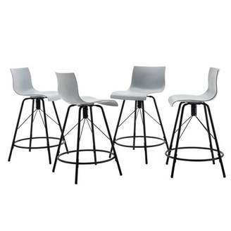 "Brayden Studio Bobb Kitchen Counter 26"" Bar Stool Brayden Studio"