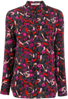 Schumacher Dorothee abstract print silk shirt