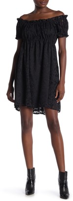 Anna Sui Lace Babydoll Dress