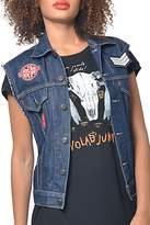 Gypsetters Embellished Jeans Vest