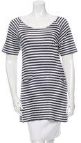 Rag & Bone Striped Short Sleeve Tunic