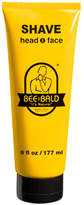Smallflower Shave Cream by Bee Bald (6oz Shave Cream)