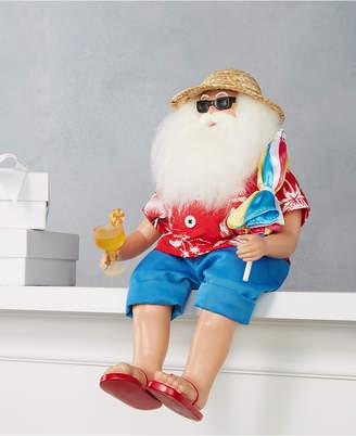 Holiday Lane Lounging Beach Santa