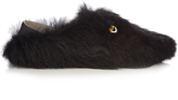 Fendi Bag Bugs fur slipper shoes
