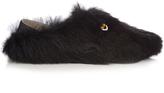 Fendi Bag Bugs fur slippers