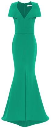 Safiyaa Hydrona crepe gown