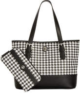 Giani Bernini Houndstooth Tote & Wallet Bundle, Created for Macy's
