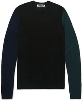 Mcq Alexander Mcqueen - Colour-block Wool Sweater
