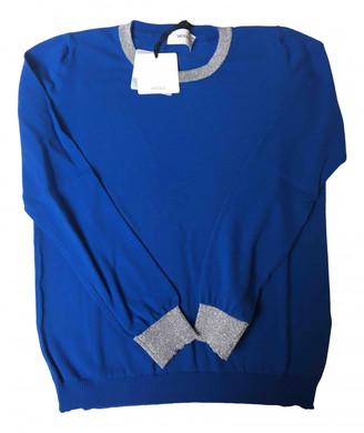 Vicolo Blue Cotton Knitwear