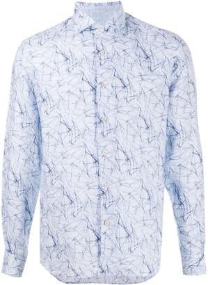 Corneliani Abstract Print Shirt
