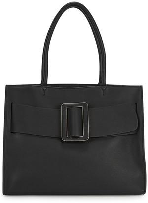Boyy Bobby Soft black leather top handle bag