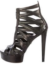 Gucci Caged Platform Sandals