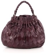 Miu Miu Pre-owned: Convertible Hobo Matelasse Leather Medium.