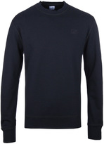 Cp Company Black Crew Neck Sweatshirt