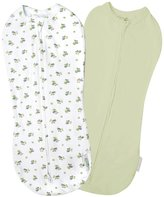 Summer Infant SwaddlePod 2 PK Cotton Spandex Blend - Caterpillar - NB