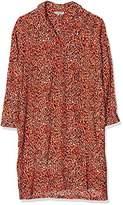 Great Plains Women's Tigga Belted Shirt Long Sleeve Dress