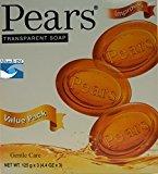 Pears 12X 125g/4.4oz, Transparent soap)