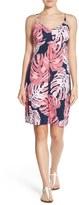 Tommy Bahama 'Pop Art Palms' Empire Waist A-Line Dress
