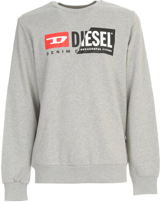 Diesel Girk Sweatshirt W/logo