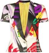 Versace Pre Owned 1980's printed jacket