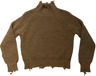 Vicolo Beige Wool Knitwear