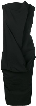 Rick Owens Ruched Style Dress