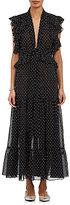 Robert Rodriguez Women's Voile Ruffle-Trimmed Dress