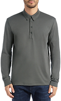Hugo Boss Boss Green Paderna Polo Top, Medium Grey