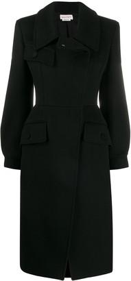 Alexander McQueen fitted formal coat