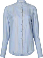 J.W.Anderson striped shirt - women - Silk - 6