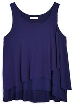 Ella Moss Girls' Tiered Tank - Sizes 7-14
