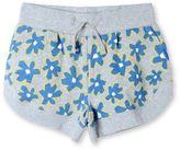 Stella McCartney blue graphic flowers cleo shorts